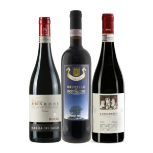 Italian Premium Case: Brunello, Barbaresco, Amarone