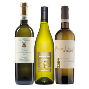 Italian Classics White: Pinot Grigio, Gavi and Verdicchio Mixed case