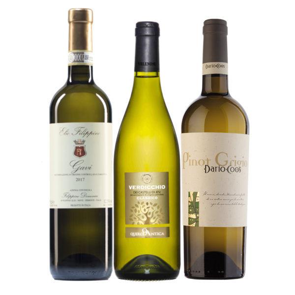 Italian Classics White: Pinot Grigio, Gavi and Verdicchio Mixed case