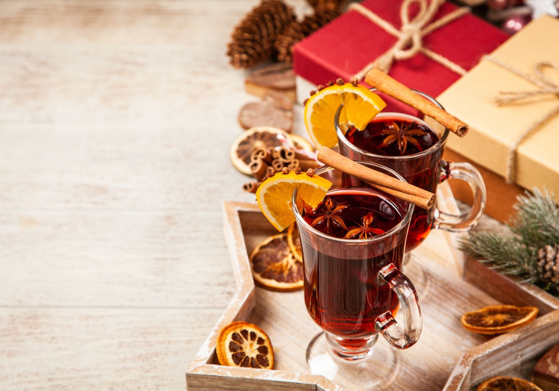 Mulled wine. Blog article