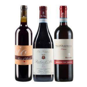 Italian Red Classics Nero d'Avola, Valpolicella, Barbera
